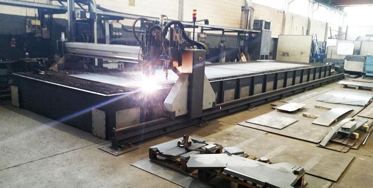 Carpenteria trasformazione lamiera saldature